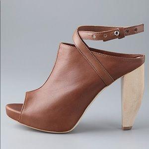 EUC Loeffler Randall Leather Ankle Ginerva Booties